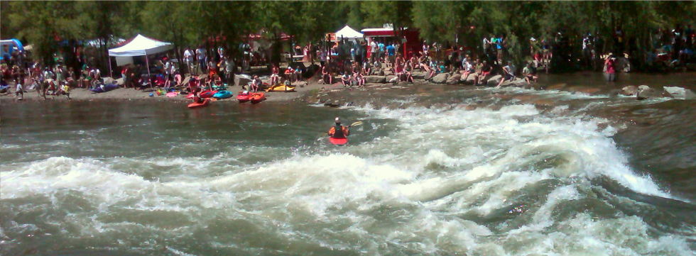 Gunnison river white water park