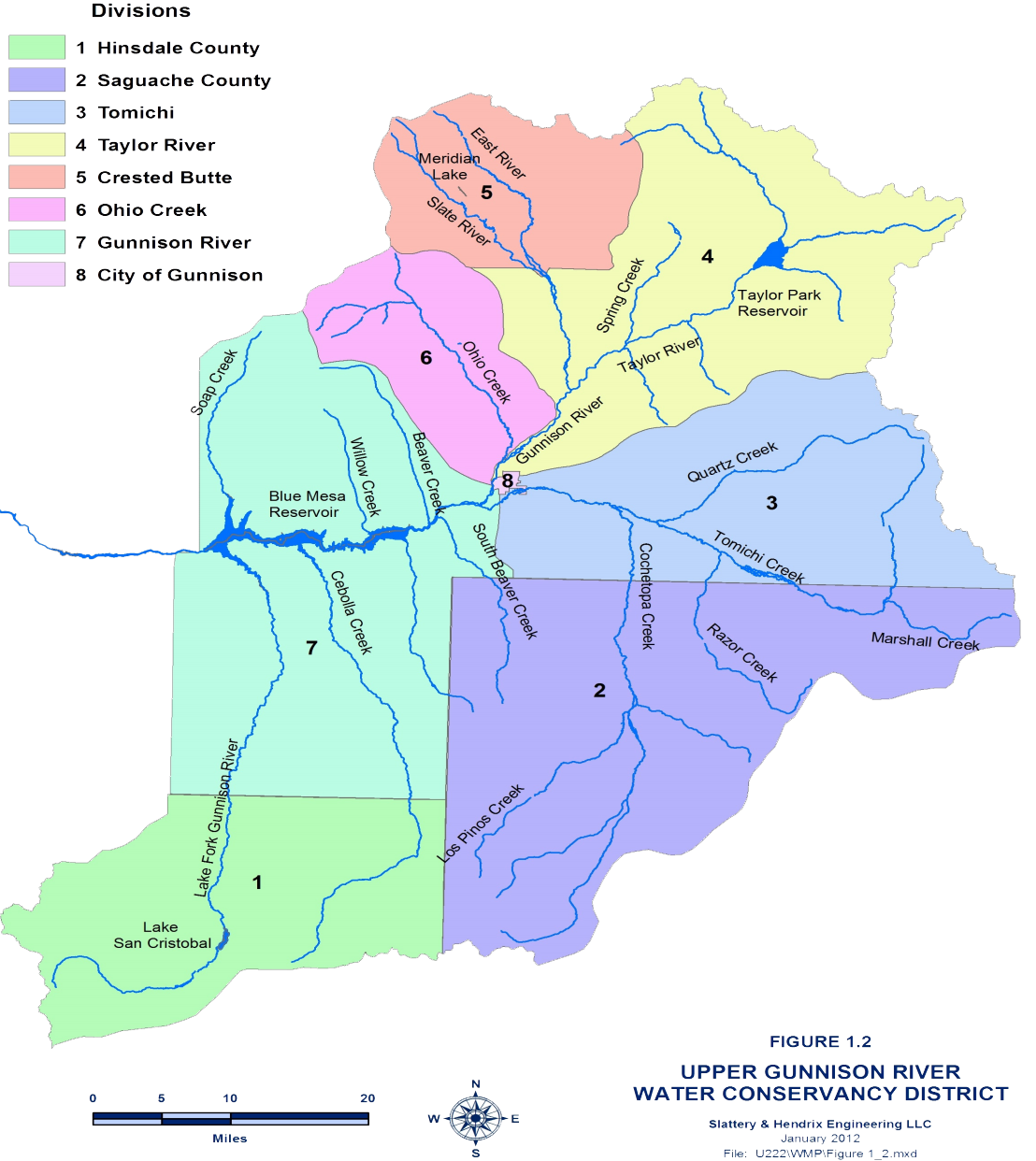 UGRWCD Divisions