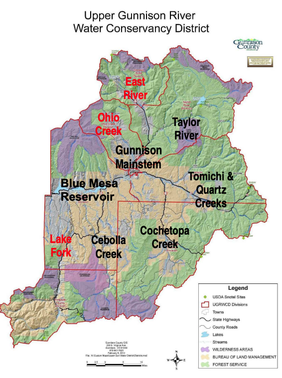 MAP: Watersheds in red type will be assessed first