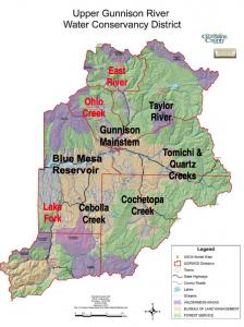 MAP of UGRWCD Water management Plan